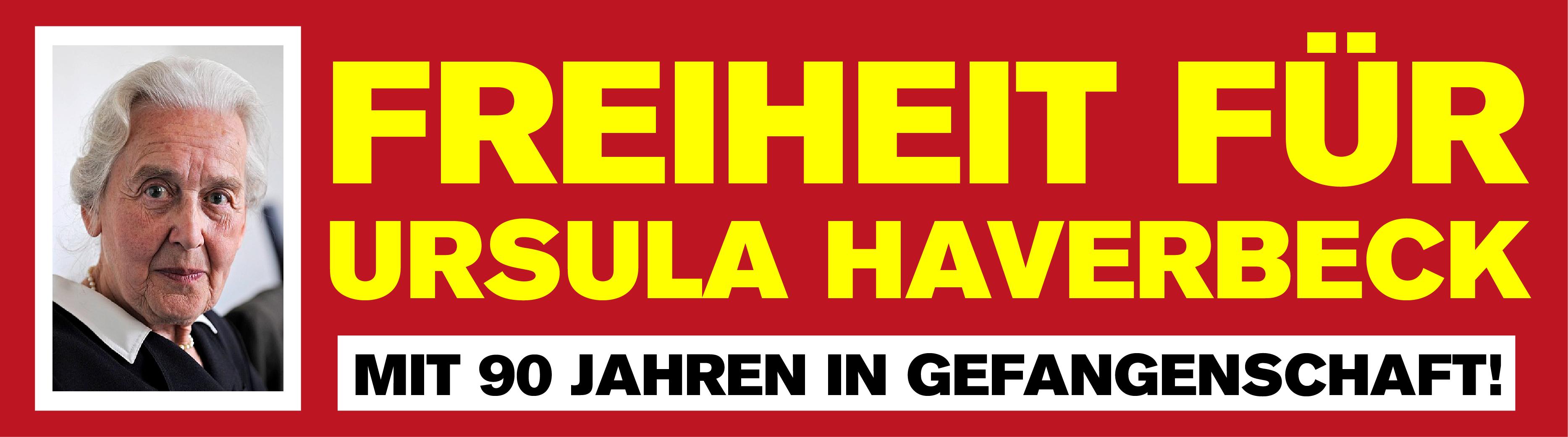 Freiheit für Ursula Haverbeck!